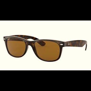 RayBan New Wayfarer Tortoise Classic Sunglasses